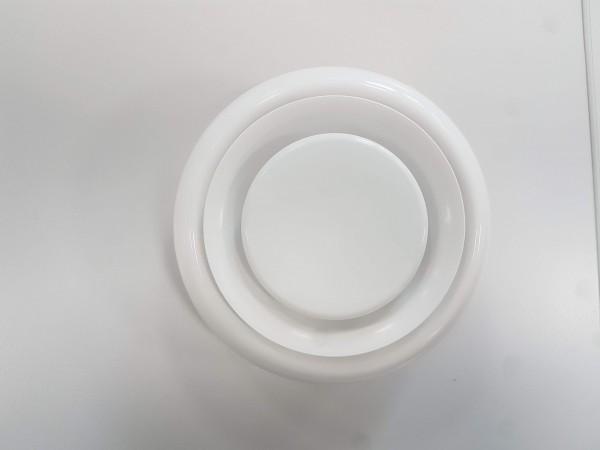 Zulufttellerventil DN 125 aus Kunststoff