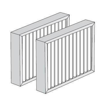 Filterpaket M5/F7 350WAC