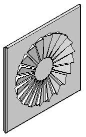 Luftgitter - Drallauslass