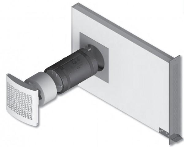 Dezentrales Wohnungslüftungsgerät Technikset mit Laibungselement