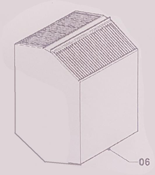 Wärmetauscher für 400WAC
