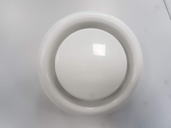 Ablufttellerventil DN 125 aus Kunststoff