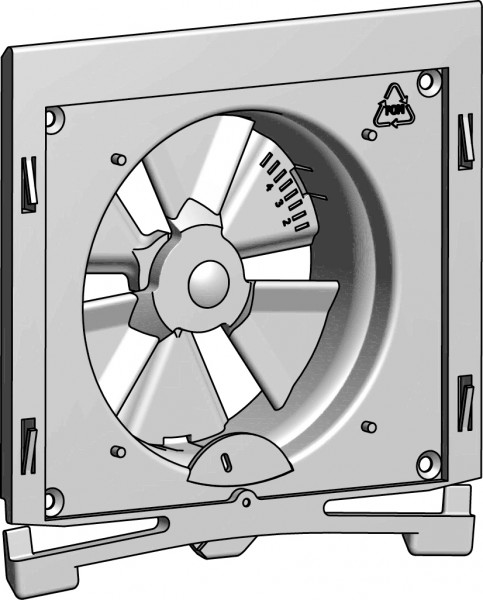 Grundbausatz Luftdurchlass