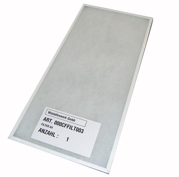 Vorfilter mit Rahmen für 250WAC G4 (für Gerät mit Bypassklappe)