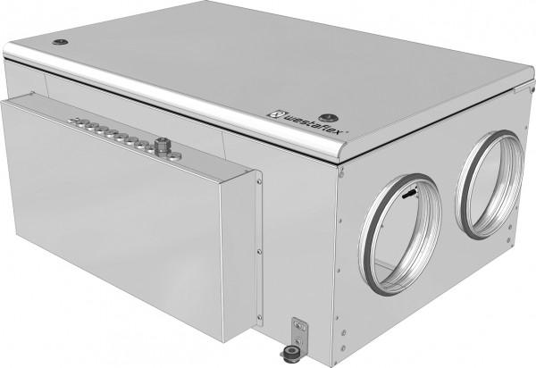 Lüftungsgerät mit Rotationswärmeübertrager